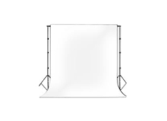 BACKDROP BLANCO 3X6